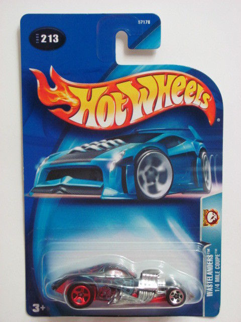 HOT WHEELS 2003 WASTELANDERS - 1/4 MILE COUPE #213
