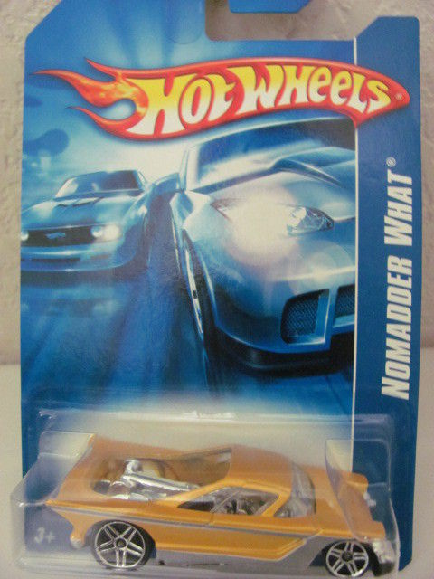 HOT WHEELS 2007 NOMADDER WHAT 211/223 YELLOW!!
