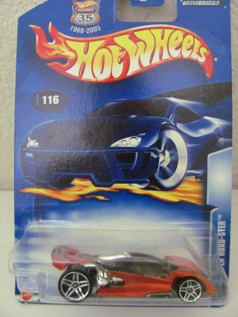 HOT WHEELS 2003 OPEN ROAD - STER #116 RED!!!