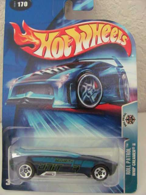 HOT WHEELS 2004 ROLL PATROL - WHIP CREAMER II #170!!!