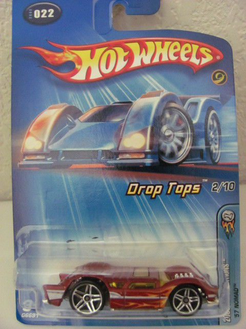 HOT WHEELS 2005 FIRST EDITIONS DROP TOPS - '57 NOMAD