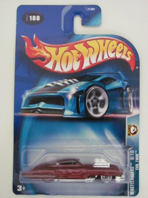 HOT WHEELS 2003 WASTELANDERS 9/10 EVIL TWIN #188