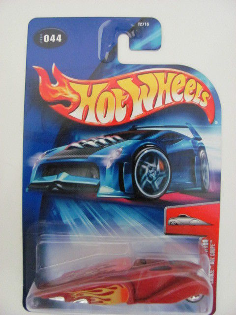 HOT WHEELS 2004 FIRST EDITIONS #044 CROOZE OOZ COUPE