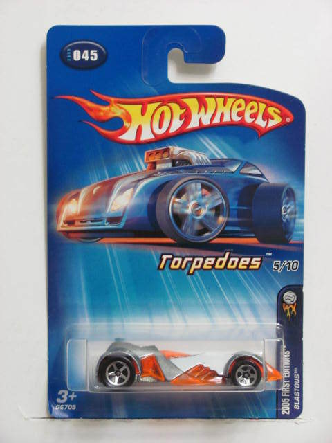 HOT WHEELS 2005 1ST EDITIONS TORPEDOES 5/10 BLASTOUS