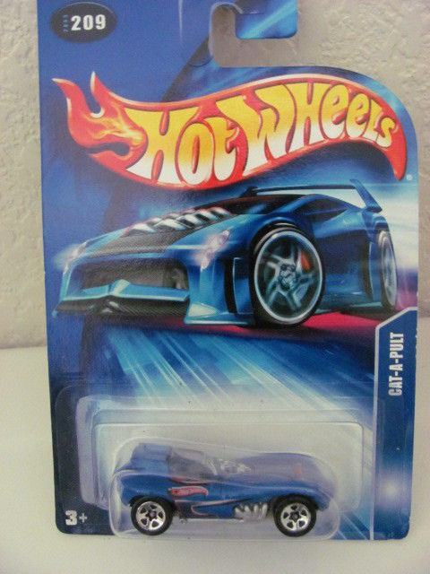 HOT WHEELS 2003 CAT-A-PULT #209 BLUE