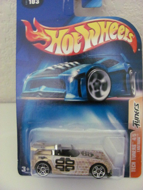 HOT WHEELS 2003 TECH TUNERS 4/5 TANTRUM #103