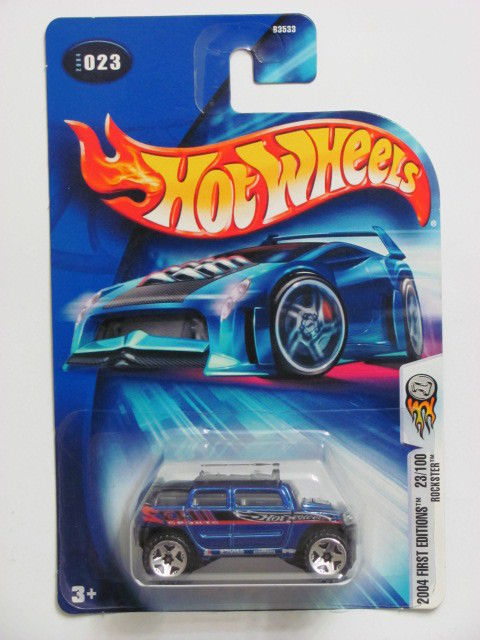HOT WHEELS 2004 FIRST EDITIONS 23/100 - ROCKSTER #023
