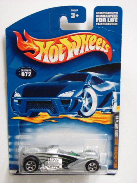 HOT WHEELS 2001 SCREAMIN' HAULER GRAY #072