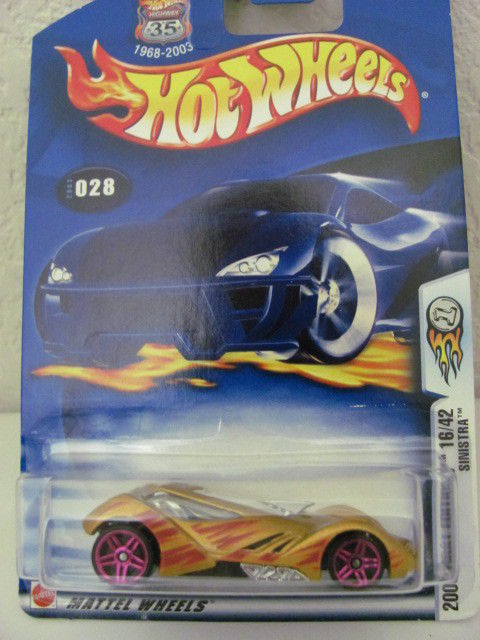 HOT WHEELS 2003 FIRST EDITIONS 16/42 SINISTRA #028