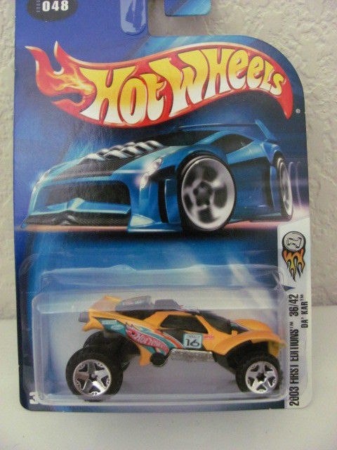 HOT WHEELS 2003 FIRST EDITIONS 36/42 DA' KAR #048 YELLOW