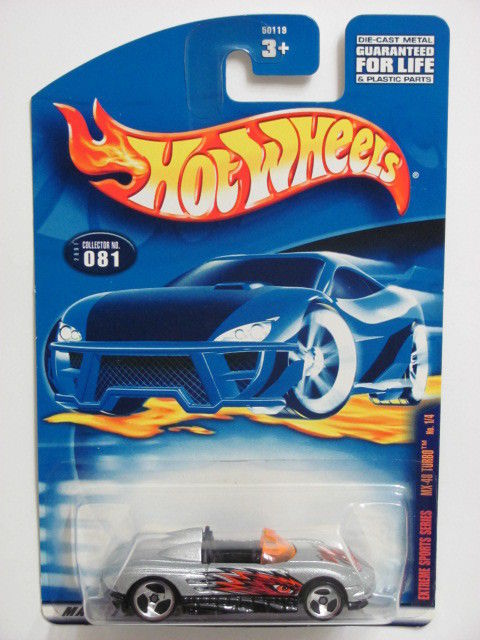 HOT WHEELS 2001 EXTREME SPORTS SERIES MX-48 TURBO