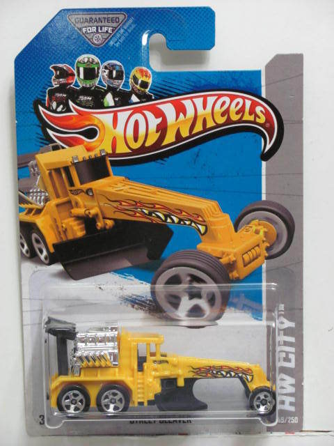 HOT WHEELS 2013 HW CITY - HW CITY WORKS STREET CLEAVER