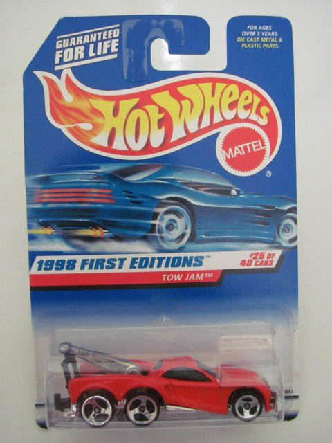 HOT WHEELS 1998 FIRST EDITIONS #658 TOW JAM RED