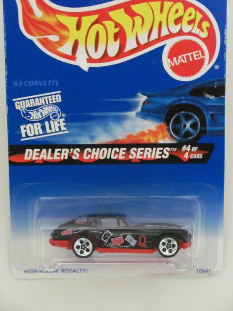 HOT WHEELS 1997 DEALER'S CHOICE SERIES '63 CORVETTE