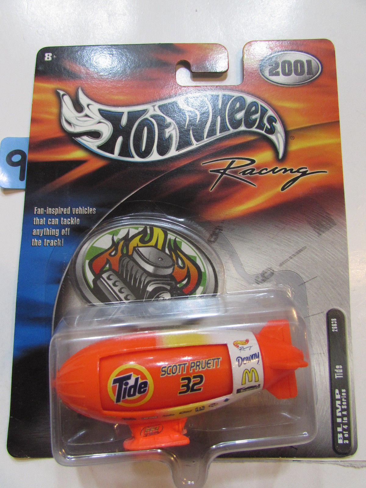 2001 HOT WHEELS RACING BLIMP 3/4 TIDE