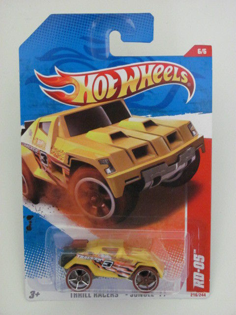 HOT WHEELS 2011 THRILL RACERS-JUNGLE `11 #6/6 RD-05