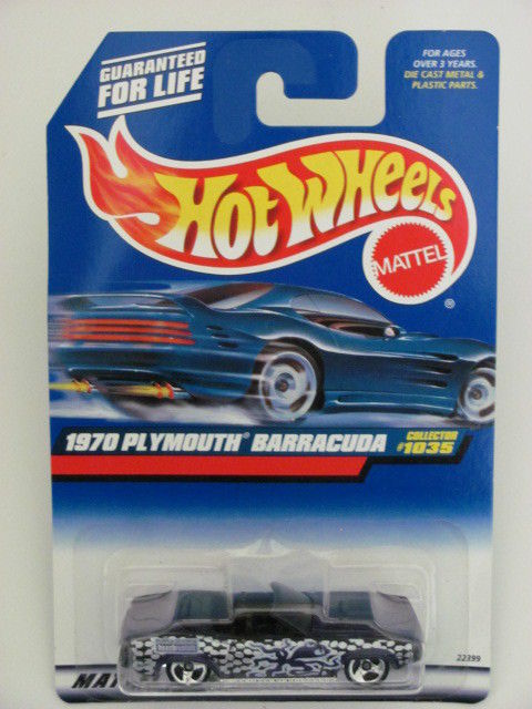 HOT WHEELS 1999 #1035 1970 PLYMOUTH BARRACUDA