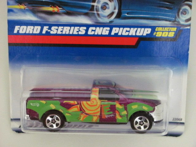 HOT WHEELS 1998 FORD F-SERIES CNG PICKUP #908