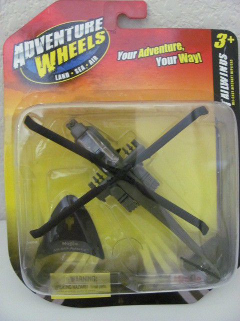 MAISTO TAILWINDS 2011 ADVENTURE WHEELS AH-64A APACHE