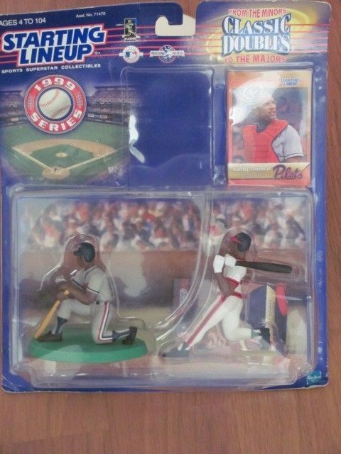 STARTING LINEUP CLASSIC DOUBLES SANDY ALOMAR PILOTS FIGURES