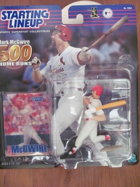 STARTING LINEUP MARK McGWIRE 500 HOME RUNS FIGURES