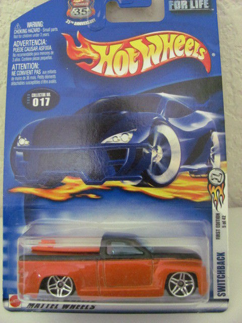 HOT WHEELS 2003 #017 SWITCHBACK FIRST EDITION 5 OF 42