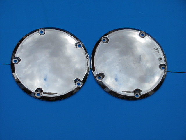 HARLEY - DAVIDSON CHROME PRIMARY DERBY COVER X2 PT#25415-99