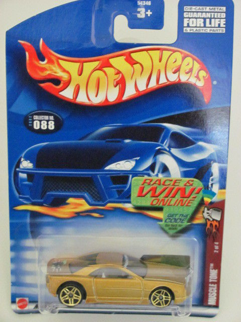 HOT WHEELS 2002 MUSCLE TONE #2/4 GOLD COLLECT. 088