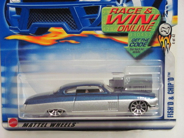 HOT WHEELS 2003 FISH'D & CHIP'D COLLECT #016 BLUE