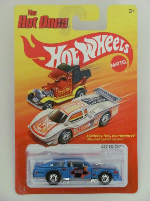 HOT WHEELS 2011 THE HOT ONES 442 MUCH BLUE