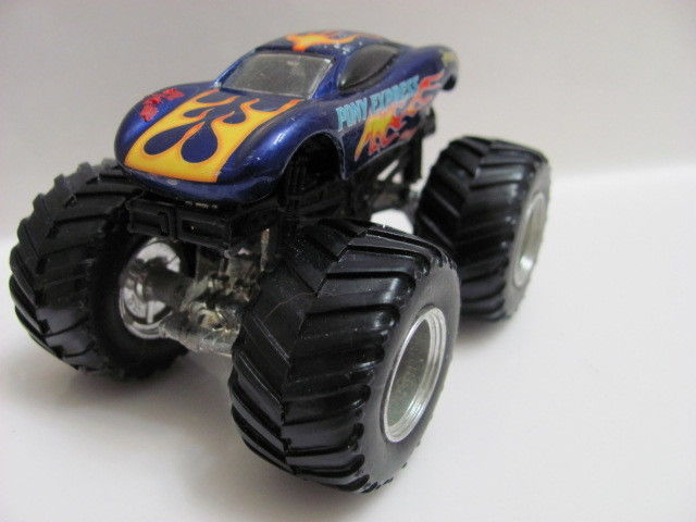"HOT WHEELS MONSTER JAM "" PONY EXPRESS "" LOOSE"