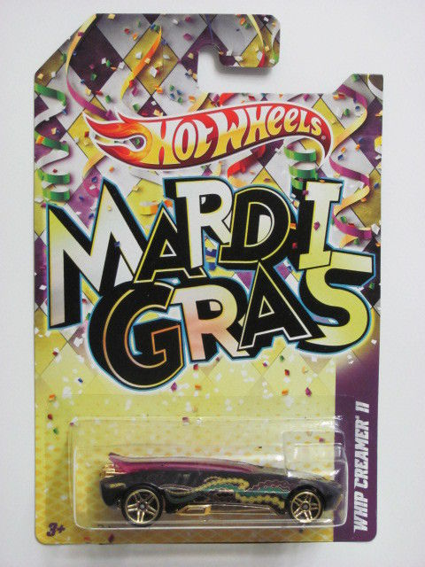 HOT WHEELS 2012 MARDI GRAS WHIP CREAMER II PURPLE