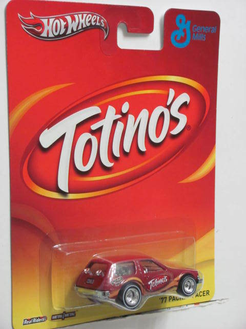 HOT WHEELS GENERAL MILLS '77 PACKIN' PACER TOTINO'S