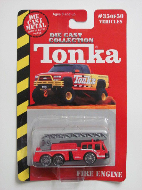MAISTO TONKA #35 OF 50 DIE CAST METAL FIRE ENGINE