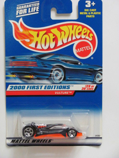 HOT WHEELS 2000 FIRST EDITIONS VULTURE COLLECT. 089