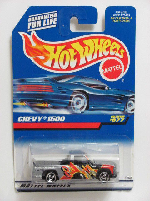 HOT WHEELS 1998 CHEVY 1500 COLLECTOR #877 SILVER