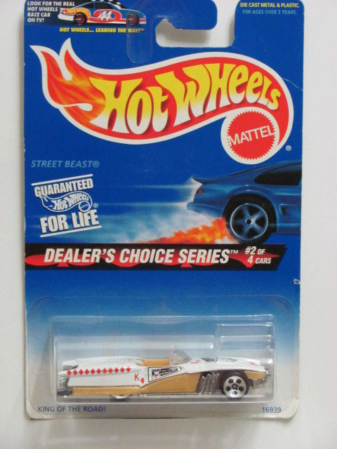 HOT WHEELS 1997 STREET BEAST DEALER'S CHOISE SERIES #566