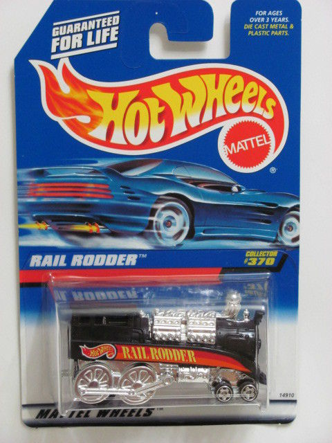 HOT WHEELS 1998 RAIL RODDER COLLECT. #370 BLACK