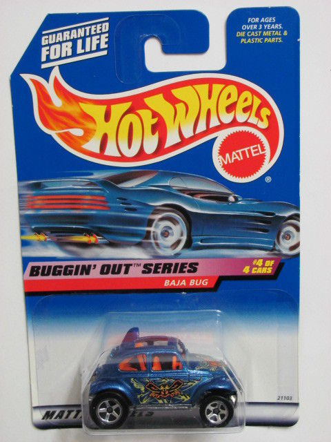 HOT WHEELS 1999 BUGGIN' OUT SERIES BAJA BUG #944