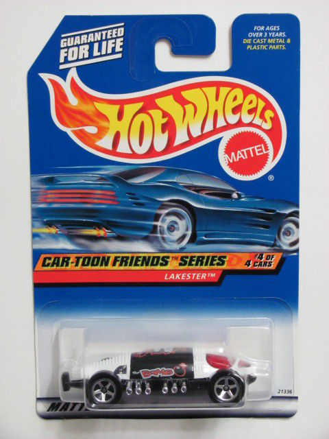 HOT WHEELS 1999 CAR-TOON FRIENDS SERIES LAKESTER #988 MIB