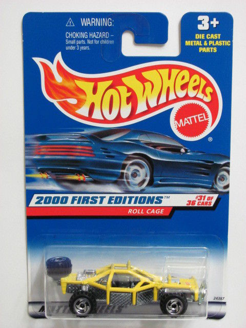 HOT WHEELS 2000 FIRST EDITIONS ROLL CAGE COLLECT. #091
