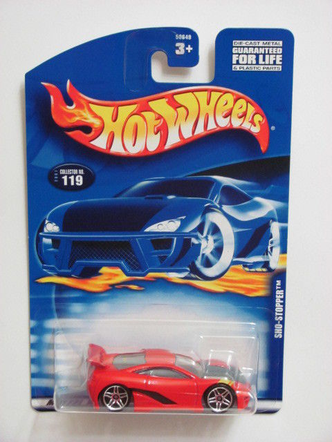 HOT WHEELS 2001 SHO-STOPPER #119 RED