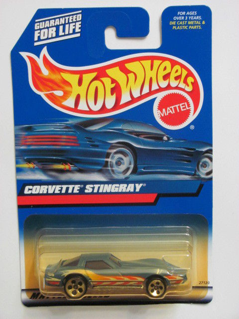 HOT WHEELS 2000 CORVETTE STINGRAY #154 BLUE