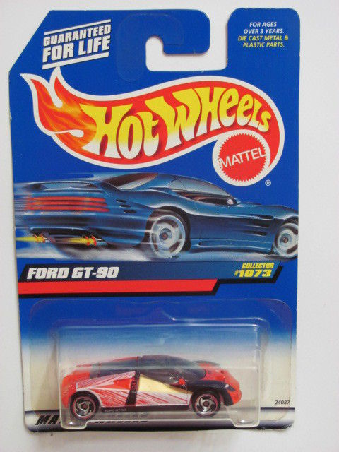 HOT WHEELS 1999 FORD GT - 90 RED COLLECT. #1073 MIB