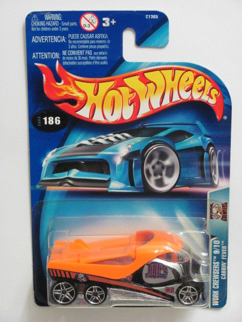 HOT WHEELS 2003 WORK CREWSERS 9/10 CABBIN' FEVER #186