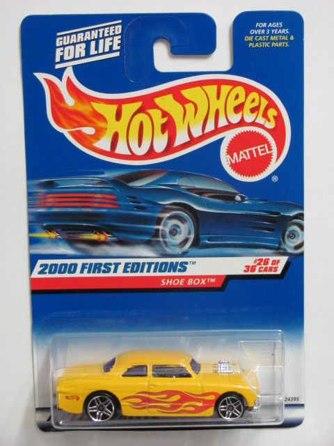 HOT WHEELS 2000 FIRST EDITIONS SHOE BOX #086