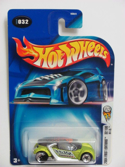 HOT WHEELS 2004 FIRST EDITIONS 32/100 - HI I.Q #032 ERROR