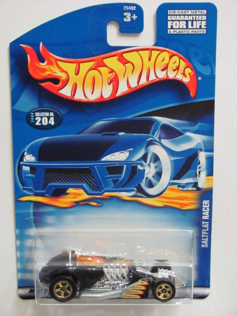 HOT WHEELS 2000 SALTFLAT RACER #204 BLACK