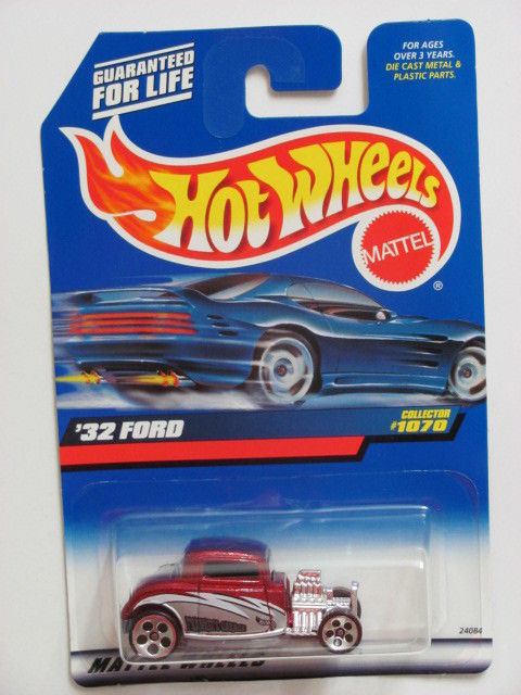 HOT WHEELS 1999 '32 FORD COLLECTOR #1070 RED