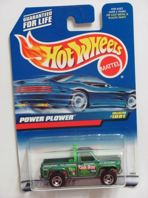 HOT WHEELS 1999 POWER PLOWER #1081 GREEN